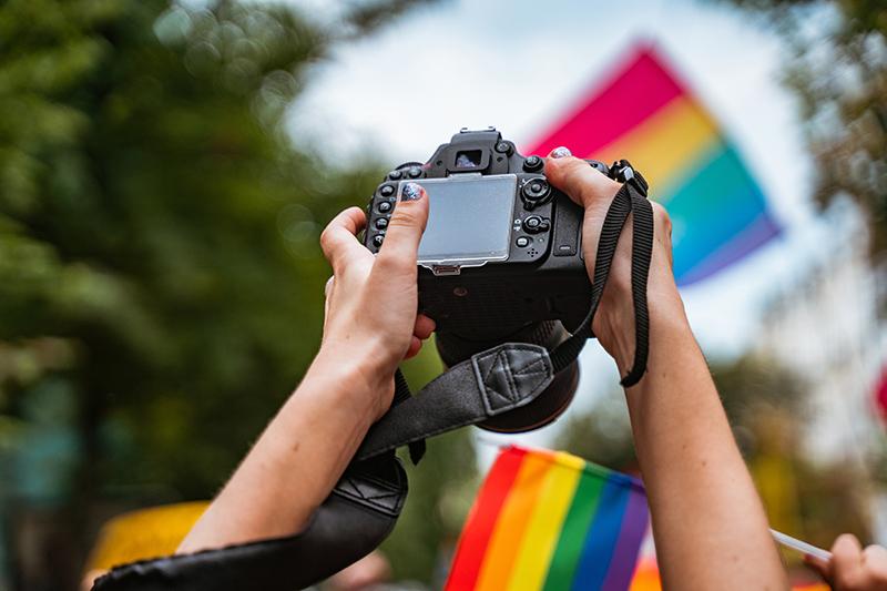 Corpo Europeo di Solidarietà a Salonicco per il Thessaloniki International LGBTIQ Film Festival - MOH
