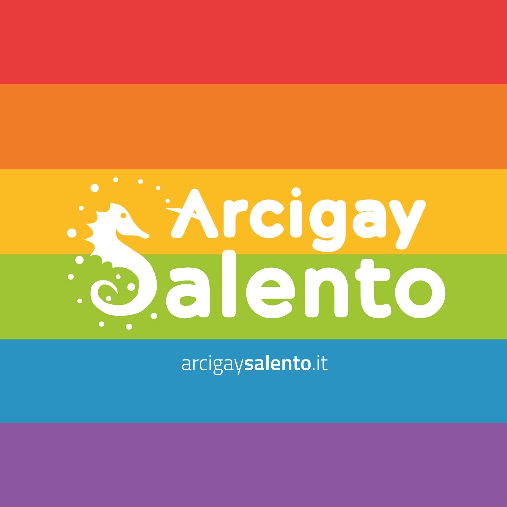 Logo Arcigay Salento - Partner MOH