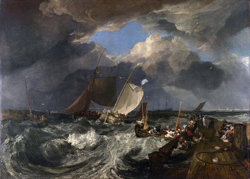 Turner - Molo di Calais