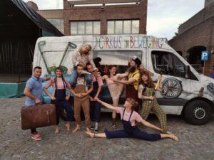 Corpo Europeo di Solidarietà in una scuola di circo in Belgio